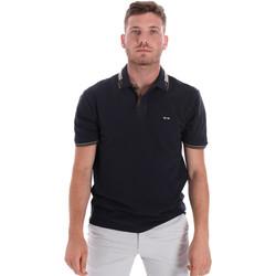 Abbigliamento Uomo Polo maniche corte Les Copains 9U9021 Blu