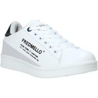 Scarpe Unisex bambino Sneakers basse Fred Mello S20-SFK313 Bianco