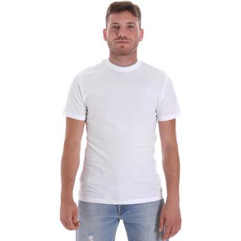 Abbigliamento Uomo T-shirt maniche corte Les Copains 9U9013 Bianco