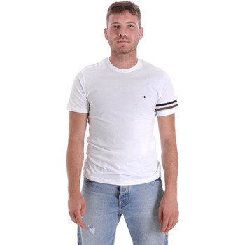 Abbigliamento Uomo T-shirt maniche corte Les Copains 9U9014 Bianco
