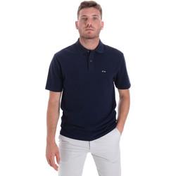 Abbigliamento Uomo Polo maniche corte Les Copains 9U9023 Blu