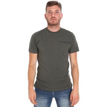 Abbigliamento Uomo T-shirt maniche corte Les Copains 9U9010 Verde