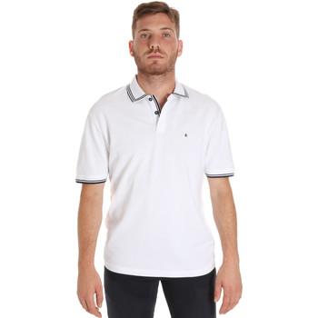 Abbigliamento Uomo Polo maniche corte Les Copains 9U9020 Bianco