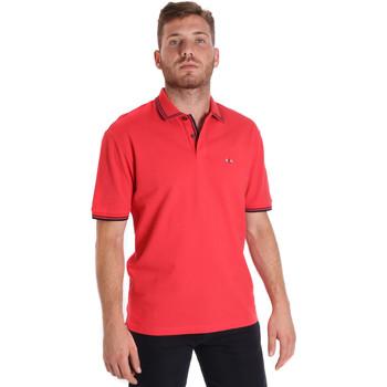 Abbigliamento Uomo Polo maniche corte Les Copains 9U9020 Rosso