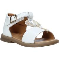 Scarpe Bambina Sandali Grunland PS0063 Bianco