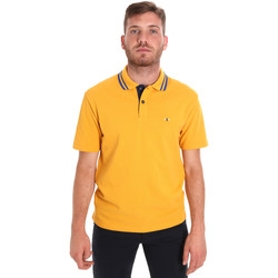 Abbigliamento Uomo Polo maniche corte Les Copains 9U9021 Giallo