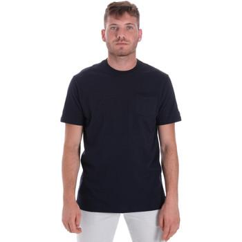 Abbigliamento Uomo T-shirt maniche corte Les Copains 9U9010 Blu
