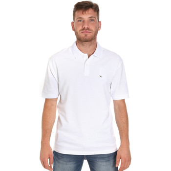 Abbigliamento Uomo Polo maniche corte Les Copains 9U9015 Bianco