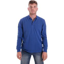 Abbigliamento Uomo Polo maniche lunghe Navigare NV82109 Blu