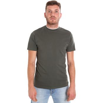 Abbigliamento Uomo T-shirt maniche corte Les Copains 9U9013 Verde