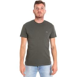 Abbigliamento Uomo T-shirt maniche corte Les Copains 9U9011 Verde