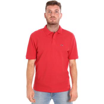 Abbigliamento Uomo Polo maniche corte Les Copains 9U9015 Rosso