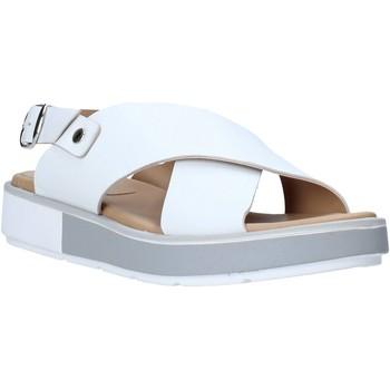 Scarpe Donna Sandali Mally 6803 Bianco