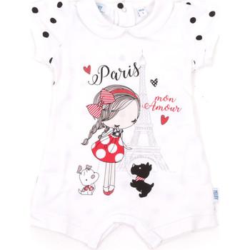 Abbigliamento Unisex bambino Tuta jumpsuit / Salopette Melby 20P7021 Bianco