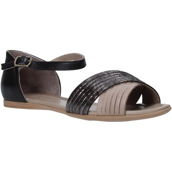 Scarpe Donna Sandali Bueno Shoes N0734 Nero