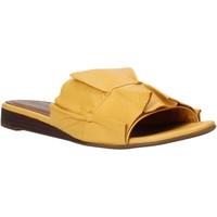 Scarpe Donna Ciabatte Bueno Shoes N1908 Giallo