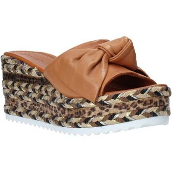 Scarpe Donna Ciabatte Bueno Shoes N3604 Marrone