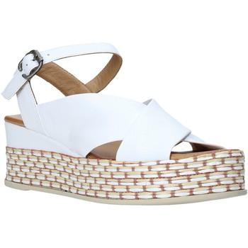 Scarpe Donna Sandali Bueno Shoes Q5901 Bianco