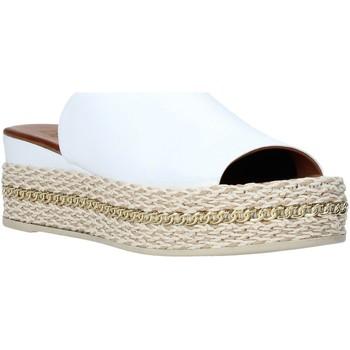 Scarpe Donna Ciabatte Bueno Shoes Q5905 Bianco