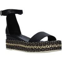 Scarpe Donna Sandali Bueno Shoes Q5908 Nero