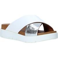 Scarpe Donna Ciabatte Bueno Shoes 9N3408 Bianco