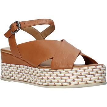 Scarpe Donna Sandali Bueno Shoes Q5901 Marrone