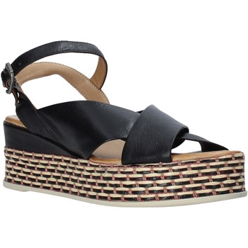 Scarpe Donna Sandali Bueno Shoes Q5901 Nero