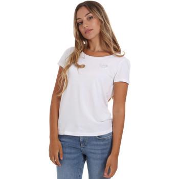 Abbigliamento Donna T-shirt maniche corte Ea7 Emporio Armani 8NTT64 TJ28Z Bianco