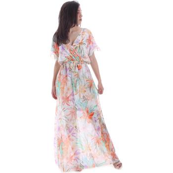 Abbigliamento Donna Abiti lunghi Gaudi 011FD15038 Arancio