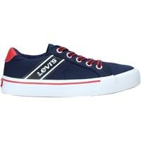 Scarpe Unisex bambino Sneakers basse Levi's VKIN0001T Blu