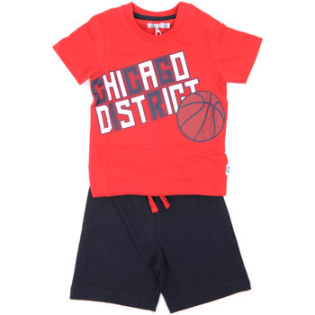 Abbigliamento Bambino Completo Melby 90L9100 Rosso