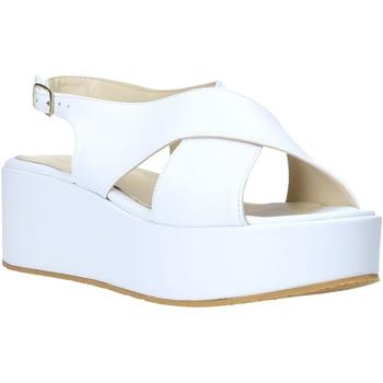 Scarpe Donna Sandali Esther Collezioni Z039 Bianco