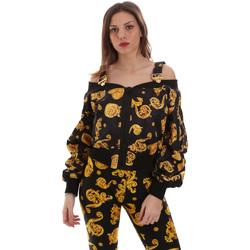 Abbigliamento Donna Felpe Versace C0HVB932S0774899 Nero