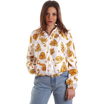 Abbigliamento Donna Felpe Versace C9HVB92525115003 Bianco