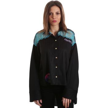Abbigliamento Donna Camicie Versace B0HVB60310623899 Nero