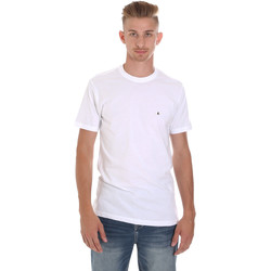 Abbigliamento Uomo T-shirt maniche corte Les Copains 9U9011 Bianco