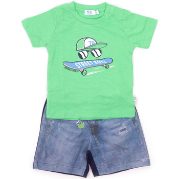 Abbigliamento Unisex bambino Completo Melby 20L7270 Verde