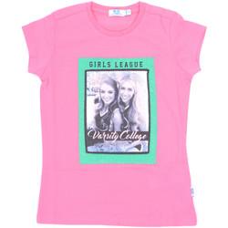 Abbigliamento Bambina T-shirt maniche corte Melby 70E5645 Rosa