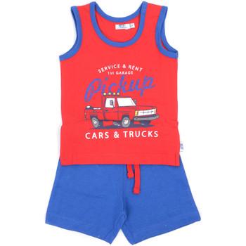 Abbigliamento Bambino Completo Melby 90L9120 Rosso