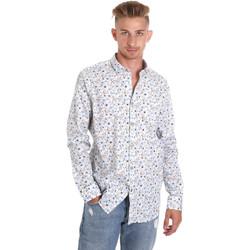 Abbigliamento Uomo Camicie maniche lunghe Sseinse CE491SS Bianco