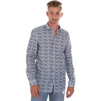 Abbigliamento Uomo Camicie maniche lunghe Sseinse CE508SS Blu