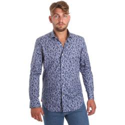 Abbigliamento Uomo Camicie maniche lunghe Betwoin D066 6635535 Blu