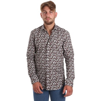 Abbigliamento Uomo Camicie maniche lunghe Betwoin DIONISIOÙ Bianco