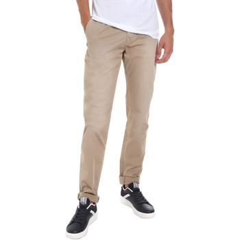 Abbigliamento Uomo Chino Gaudi 011BU25004WC Beige