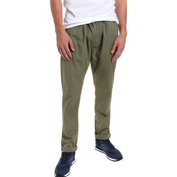Abbigliamento Uomo Chino Gaudi 011BU25015 Verde