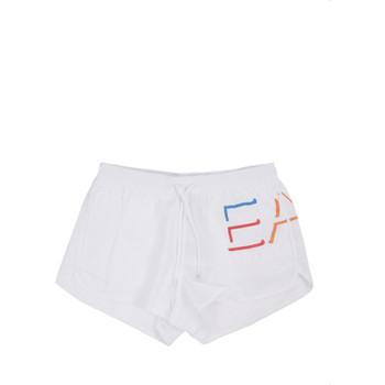 Abbigliamento Uomo Costume / Bermuda da spiaggia Ea7 Emporio Armani 902024 0P739 Bianco