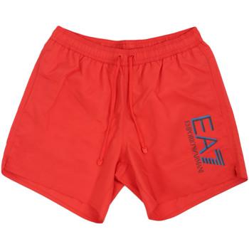 Abbigliamento Uomo Costume / Bermuda da spiaggia Ea7 Emporio Armani 902000 0P738 Rosso