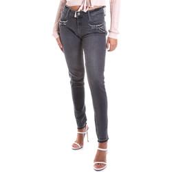 Abbigliamento Donna Jeans slim Gas 355766 Grigio