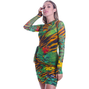 Abbigliamento Donna Abiti corti Versace D2HVB495S0782983 Nero
