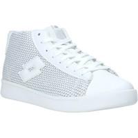 Scarpe Donna Sneakers alte Lotto L57989 Bianco